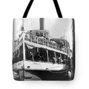 People Fleeing Galveston After Flood - September 1900 Tote Bag