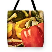 Peppered 4 Tote Bag