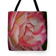 Peppermint Rose Tote Bag