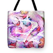 Peppermint Snake Tote Bag