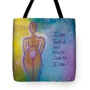 Perfect And Whole Tote Bag
