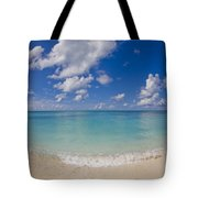Perfect Beach Day With Blue Skies Tote Bag