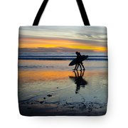 Perfect Day's End Tote Bag by Athena Lin