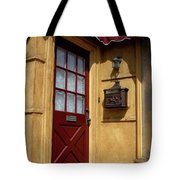 Perfectly Paletted Doorway Tote Bag