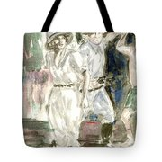 Perils Of Pauline Tote Bag