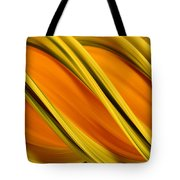Peripheral Streak Image Of Squash Tote Bag