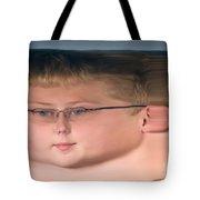 Peripheral Streak Image Tote Bag