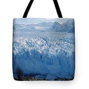 Perito Moreno Glacier, Tourist Overlook Tote Bag