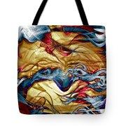 Permanent Waves Tote Bag by Linda Sannuti