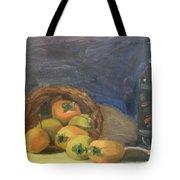 Persimos Y Vino Tote Bag by Lilibeth Andre