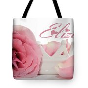 Personalized Princess Petals Tote Bag