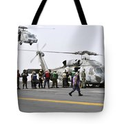 Personnel Load Humanitarian Supplies Tote Bag