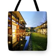 Perspective Of Contemporary Architecture Tote Bag