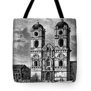 Peru: Jesuit Church, 1869 Tote Bag