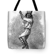 Peru: Native Indian Dancer Tote Bag