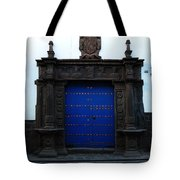 Peruvian Door Decor 12 Tote Bag