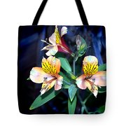 Peruvian Lily In My Garden Tote Bag