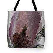 Petal Prose Tote Bag by Tim Allen