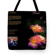 Petals Of Praise Books By Randall Branham Tote Bag