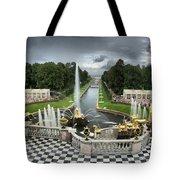 Peterhof Palace 16x9 Tote Bag