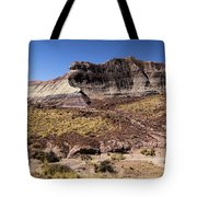 Petrified Forest Badlands Tote Bag