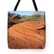 Petrified Sand Dunes - Snow Canyon Utah  Tote Bag