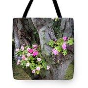 Petunia Tree Tote Bag