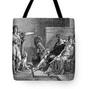 Phaedra And Hippolytus Tote Bag