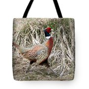 Pheasant Walking Tote Bag