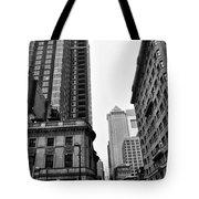 Philadelphia 18th And Walnut Street. Tote Bag