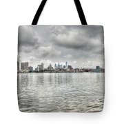 Philadelphia Across The Water Tote Bag
