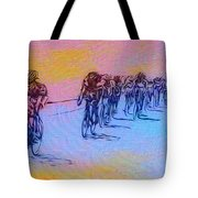 Philadelphia Bike Race Tote Bag