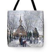 Philadelphia: Winter, 1873 Tote Bag