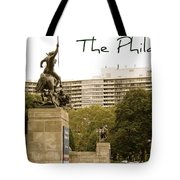 Philadelphian View From Museum Tote Bag