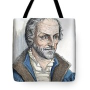 Philipp Melanchthon (1497-1560). German Scholar And Religious Reformer: Line Engraving, German, 19th Century Tote Bag