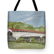 Philippi Covered Bridge  Tote Bag