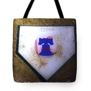 Phillies Home Plate Tote Bag