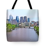 Philly By Water Tote Bag