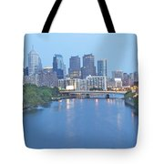 Philly In Blue Tote Bag