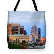 Phoenix Skyline At Dusk Tote Bag