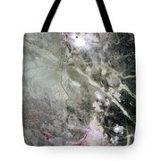 Phosphate Mines, Jordan Tote Bag by Nasa
