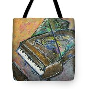 Piano Study 4 Tote Bag