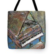 Piano Study 5 Tote Bag