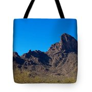 Picacho Peak - Arizona Tote Bag