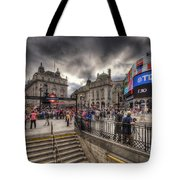 Piccadilly Circus - London Tote Bag