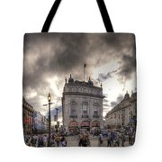Piccadilly Panorama Tote Bag
