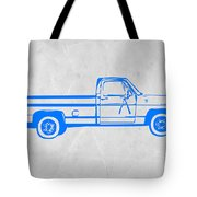 Pick Up Truck Tote Bag by Naxart Studio