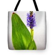 Pickerel Blue Pontederia Cordata Tote Bag