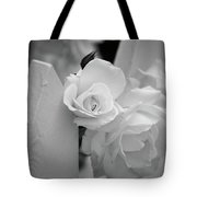 Picket Rose Tote Bag