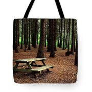 Picnic Table Tote Bag by Carlos Caetano